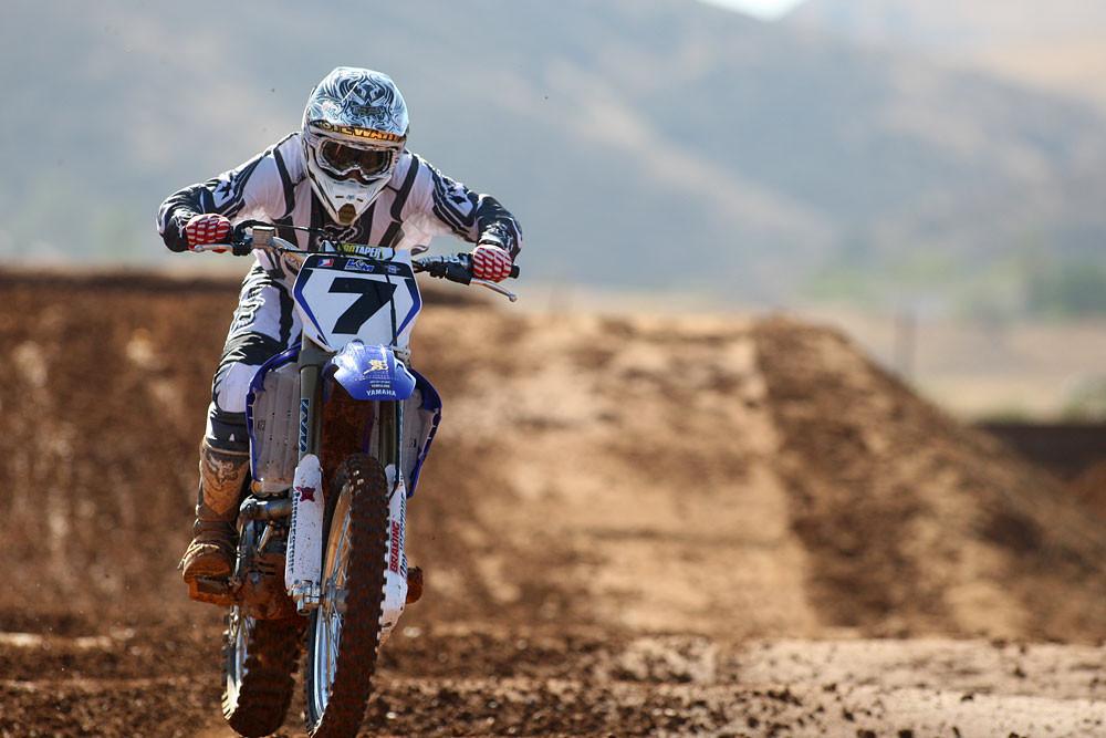 James Stewart - Blue Day: Final U.S. Open Prep - Motocross Pictures - Vital MX