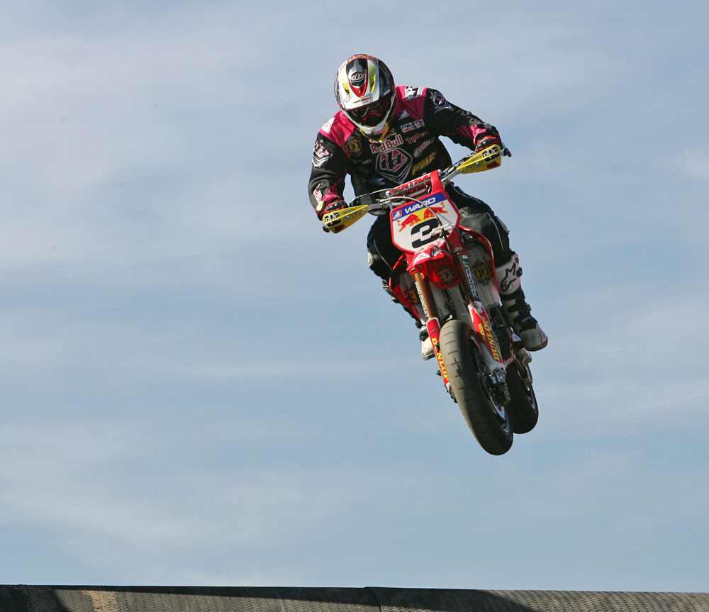 Jeff Ward - 2006 Duel at the Docks AMA Supermoto Finals - Motocross Pictures - Vital MX