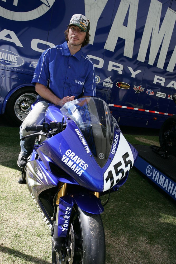 Ben Bostrom - 2007 Yamaha Team Intro - Motocross Pictures - Vital MX