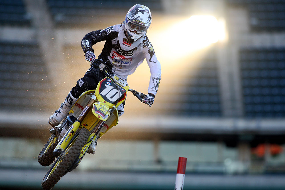 Ryan Dungey - Vital MX Pit Bits: Anaheim 2 2009 - Motocross Pictures - Vital MX