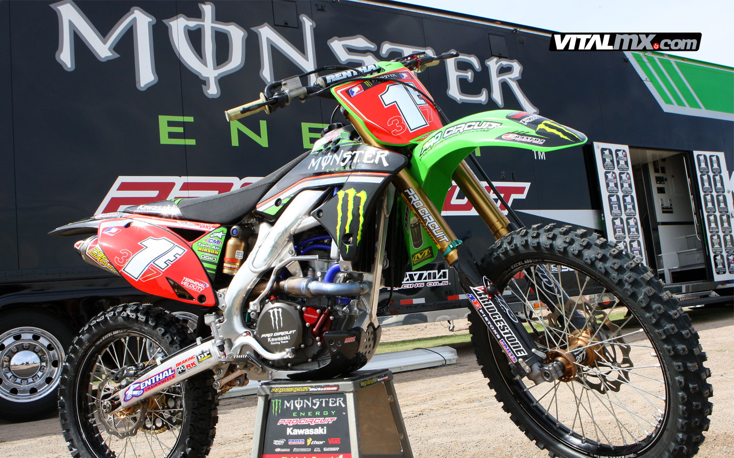Christophe Pourcel's 1e - The Big Picture - Motocross Pictures - Vital MX