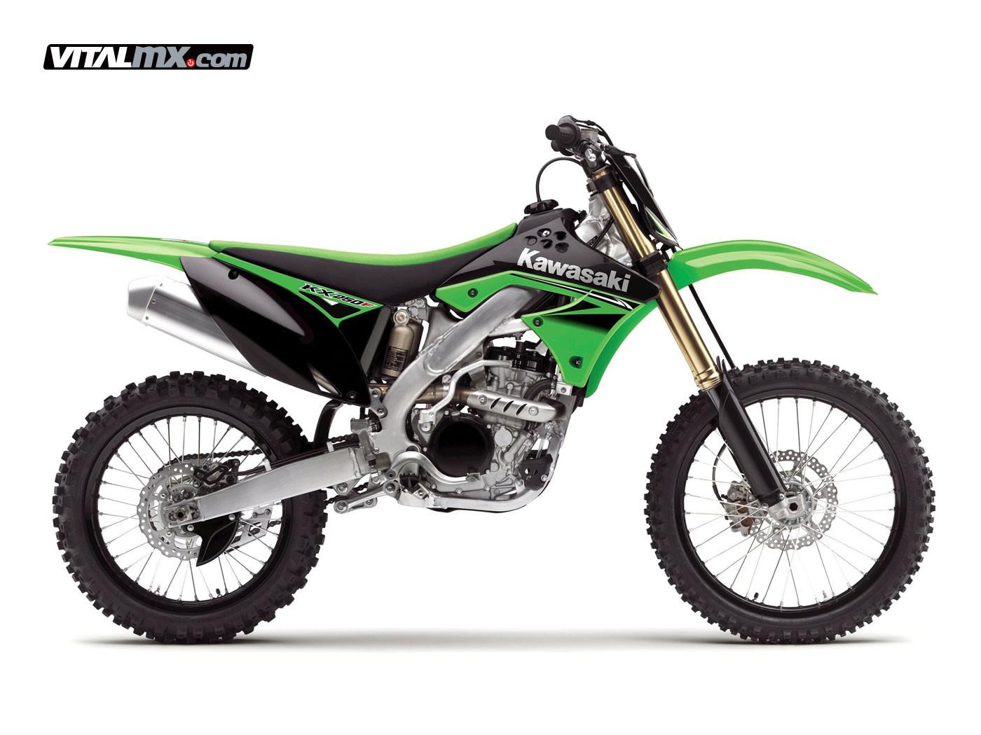 2010 Kawasaki KX250F - 2010 Kawasaki KX Models - Motocross Pictures - Vital MX
