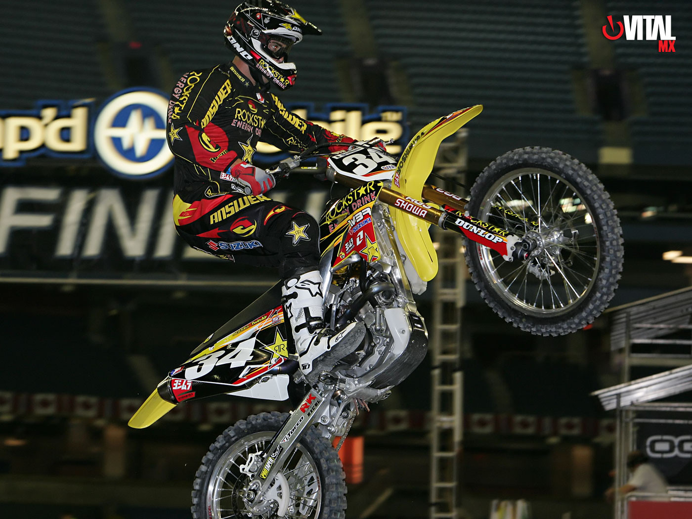 Troy Adams 1400 x 1050 - 2006 Fresh Wallpapers: Toronto Supercross - Motocross Pictures - Vital MX