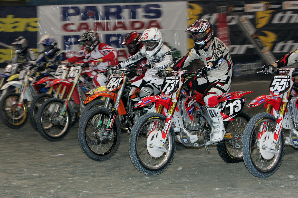 Lites Heat Race 1 - 2006 Vancouver Supercross - Motocross Pictures - Vital MX