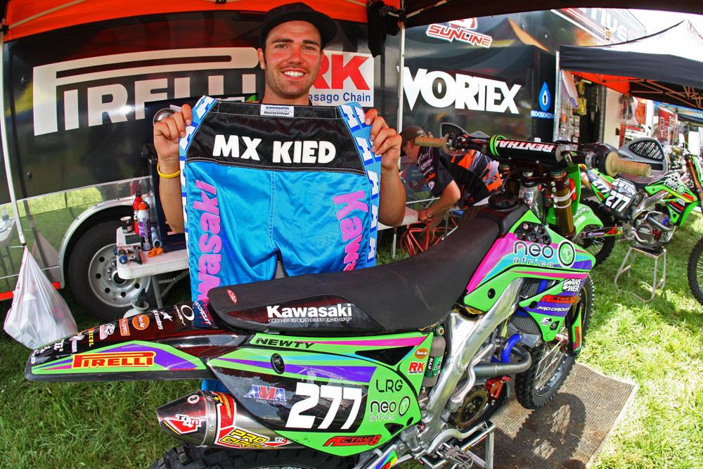 Ryan Newton - Vital MX  Pit Bits: Unadilla - Motocross Pictures - Vital MX