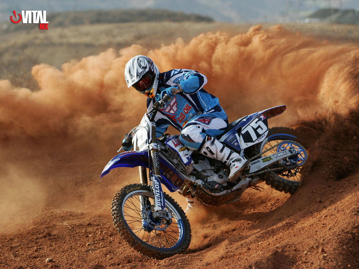 Broc Tickle 1400 x 1050 - 2006 Lucas Oil Yamaha Wallpapers - Motocross Pictures - Vital MX
