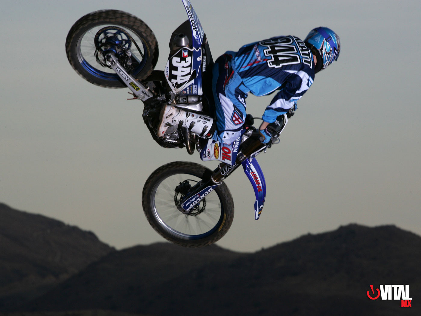 Dusty Klatt 1400 x 1050 - 2006 Lucas Oil Yamaha Wallpapers - Motocross Pictures - Vital MX