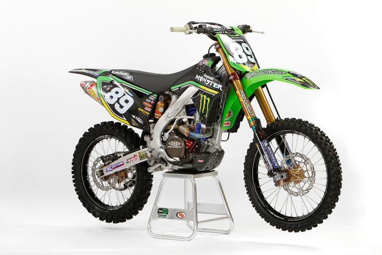 Team CLS-Steven Frossard - Kawasaki 2010 MX Team Shoot - Motocross