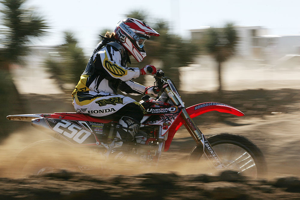 Jessica Patterson - 2006 Leatt Brace Ride Day - Motocross Pictures - Vital MX