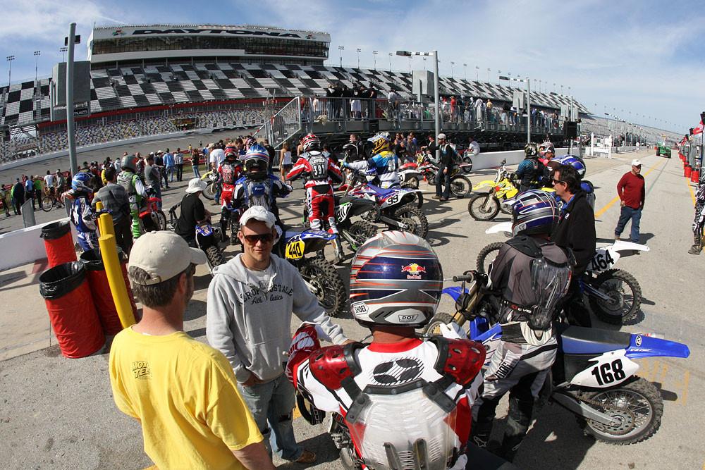 Ricky Carmichael Daytona Amateur SX - Ricky Carmichael Daytona Amateur SX - Motocross Pictures - Vital MX