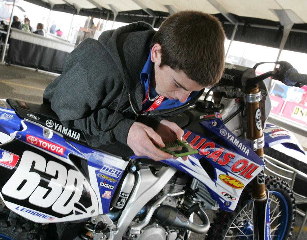 Matt Lemoine - 2007 San Francisco Pit Bits - Motocross Pictures - Vital MX