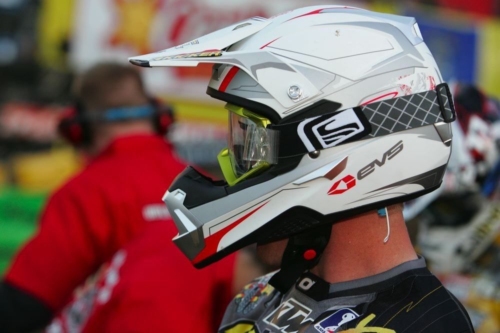 Joe Oehlhof - 2007 First Look: EVS TAKT 981 Helmet - Motocross Pictures - Vital MX