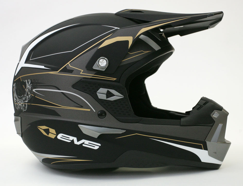 EVS TAKT 981 Side View - 2007 First Look: EVS TAKT 981 Helmet - Motocross Pictures - Vital MX