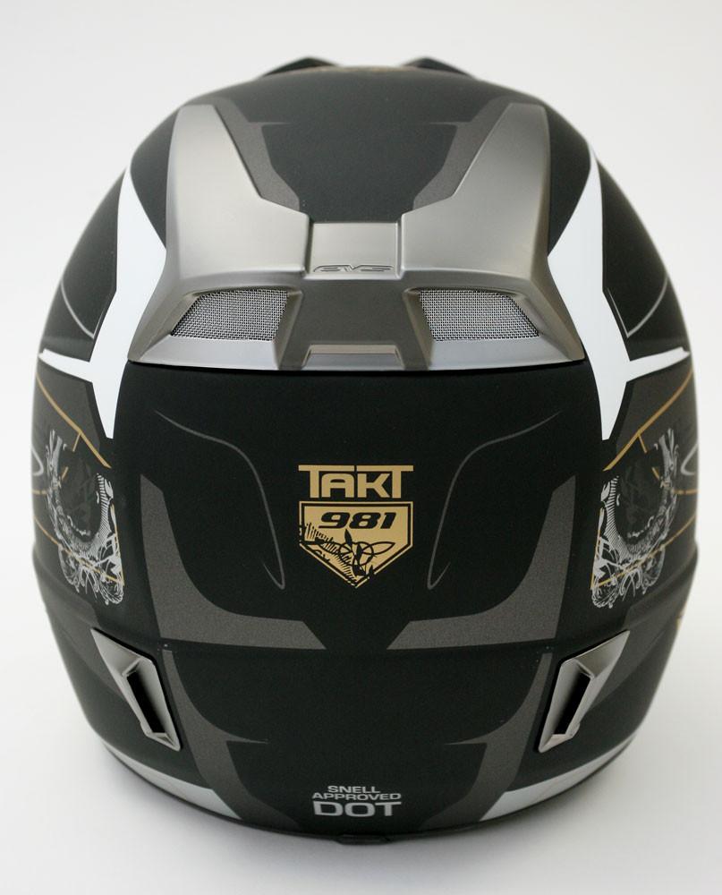 EVS TAKT 981 Rear View - 2007 First Look: EVS TAKT 981 Helmet - Motocross Pictures - Vital MX