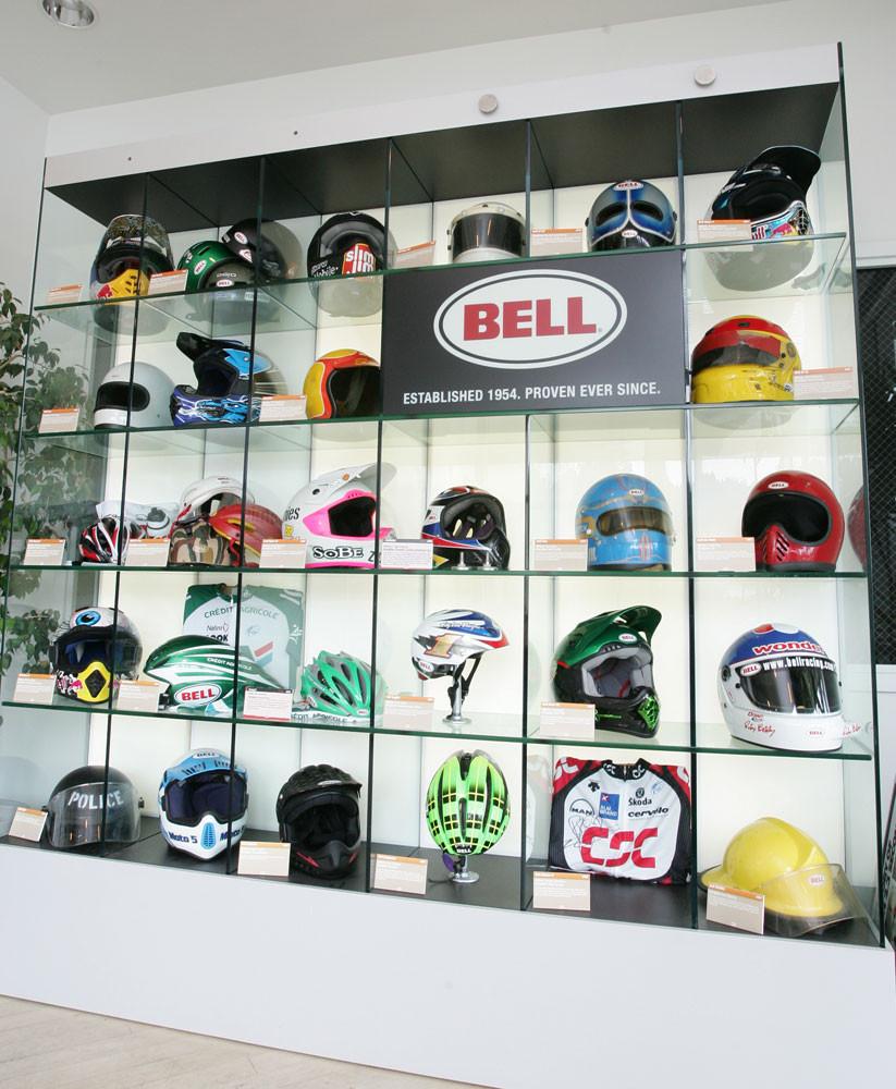 Bell Helmets lobby - 2007 Bell Helmets Visit - Motocross Pictures - Vital MX