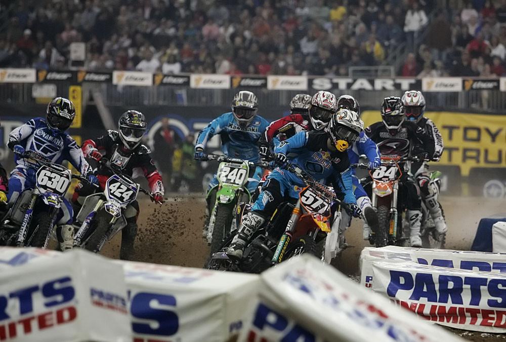 2007 Amp'd Mobile Supercross: Houston 1 - 2007 Amp'd Mobile Supercross: Houston - Motocross Pictures - Vital MX