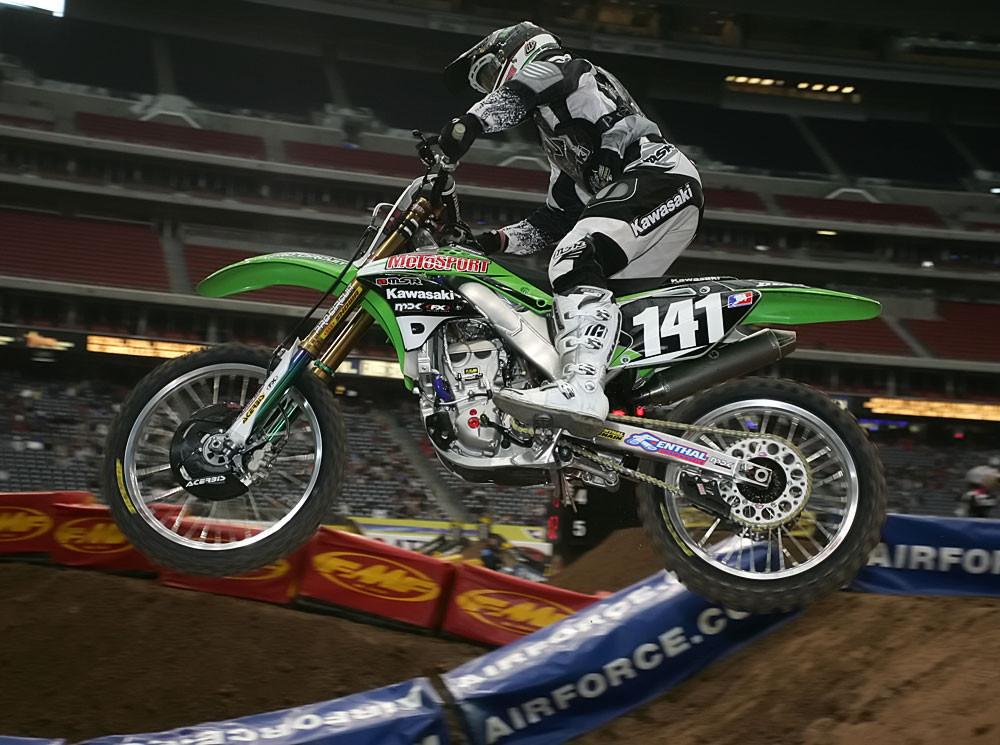Steve Boniface - Vital MX Post-Race Pit Bits: Houston - Motocross Pictures - Vital MX
