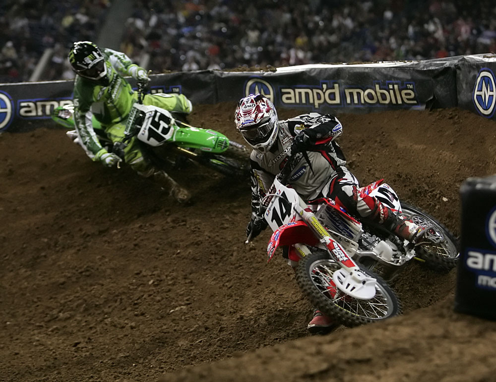 Kevin Windham and Tim Ferry - Vital MX Post-Race Pit Bits: Houston - Motocross Pictures - Vital MX