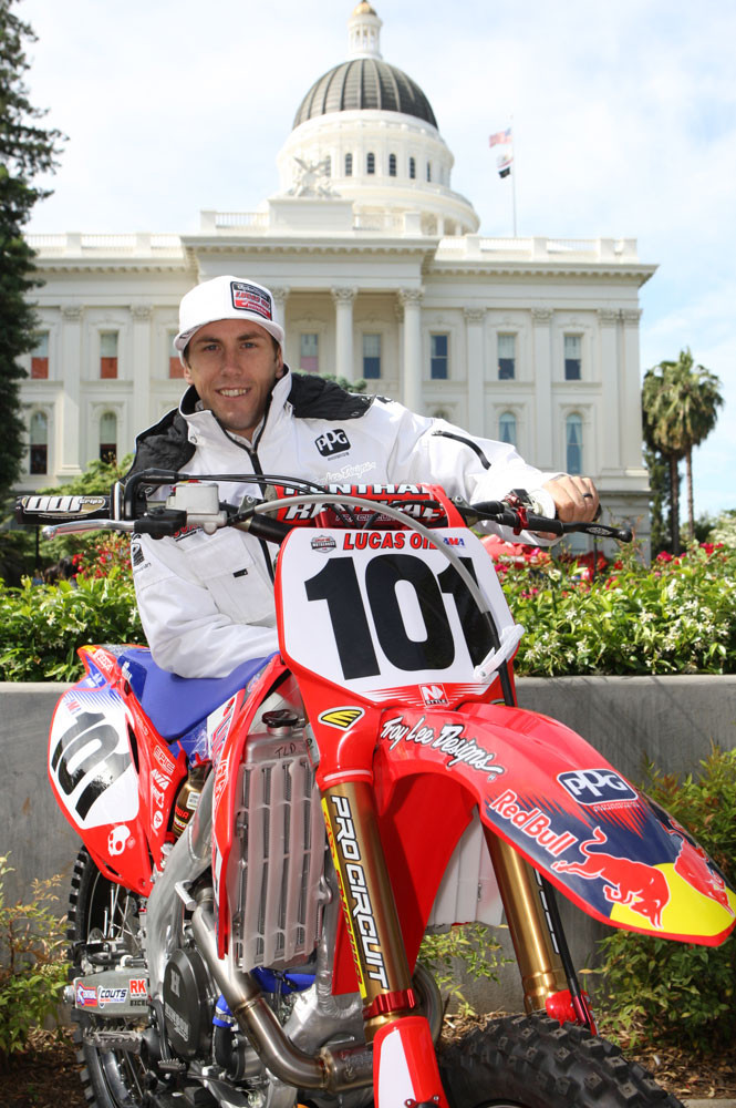 Ben Townley - Launching the 2010 Lucas Oil AMA Pro Motocross Championship - Motocross Pictures - Vital MX