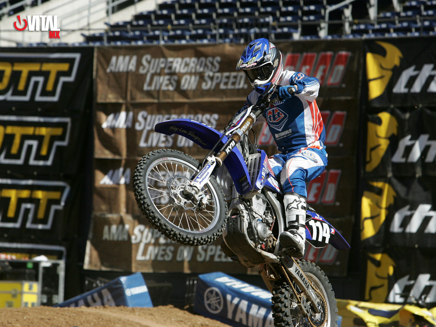 Justin Brayton 1400 x 1050 - 2007 San Diego Press Day - Motocross Pictures - Vital MX