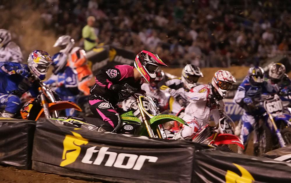2007 Amp'd Mobile Supercross: San Diego 1 - 2007 Amp'd Mobile Supercross: San Diego - Motocross Pictures - Vital MX
