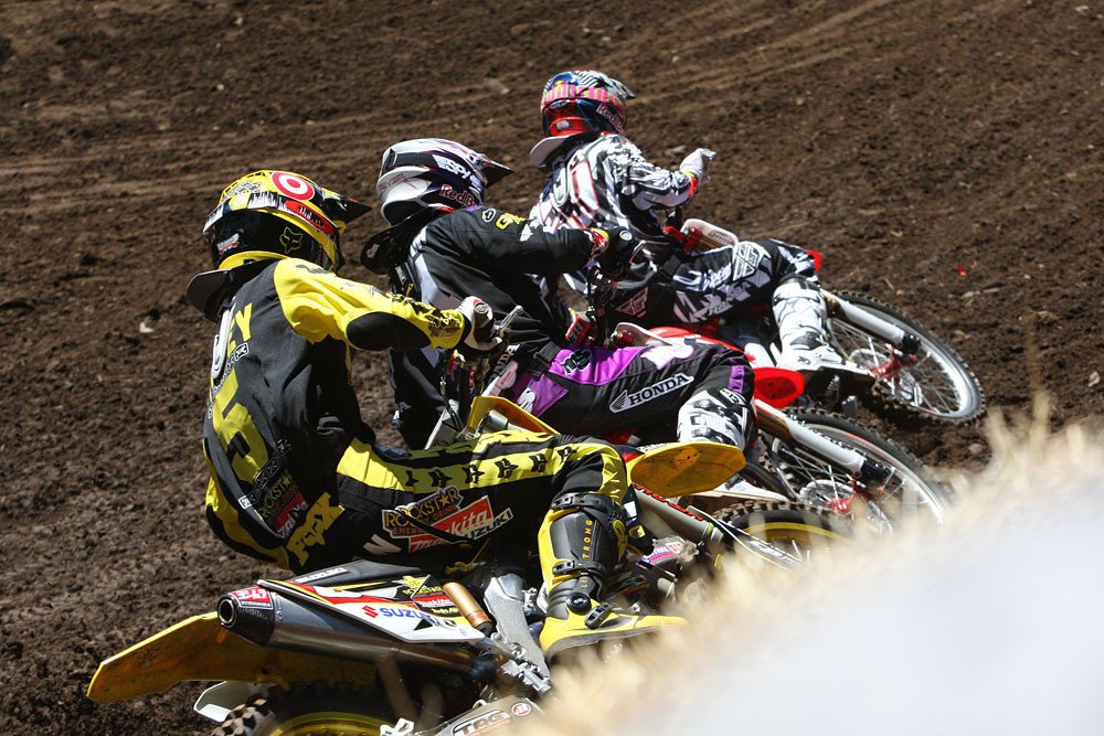 Andrew Short, Kevin Windham, and Ryan Dungey - Photo Blast: Washougal 2010 - Motocross Pictures - Vital MX