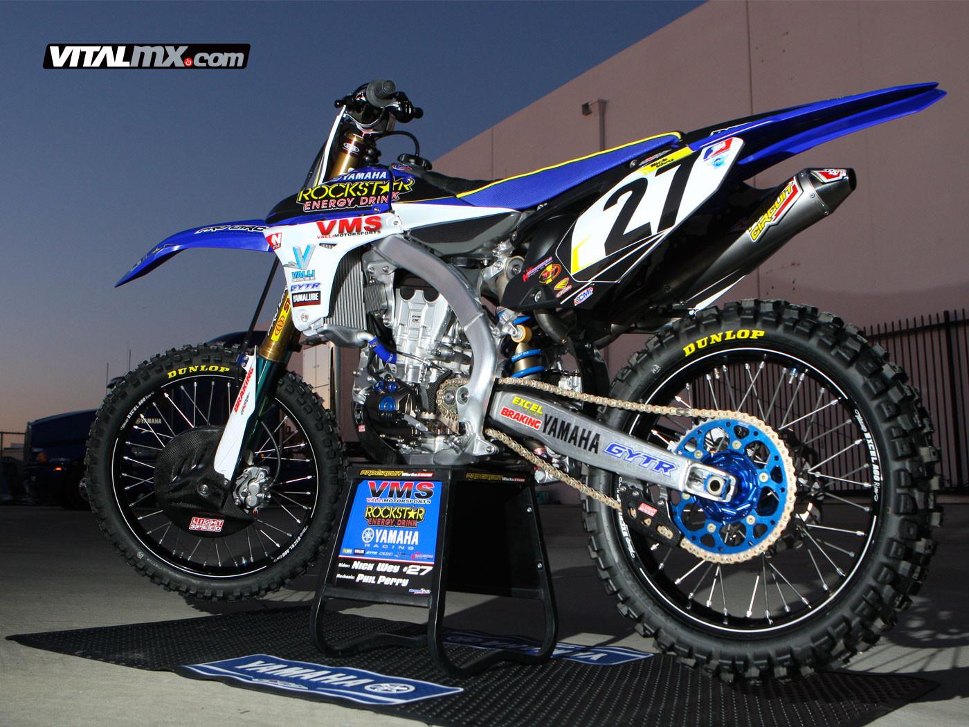 Nick Weys Valli Motorsports Rockstar Yamaha