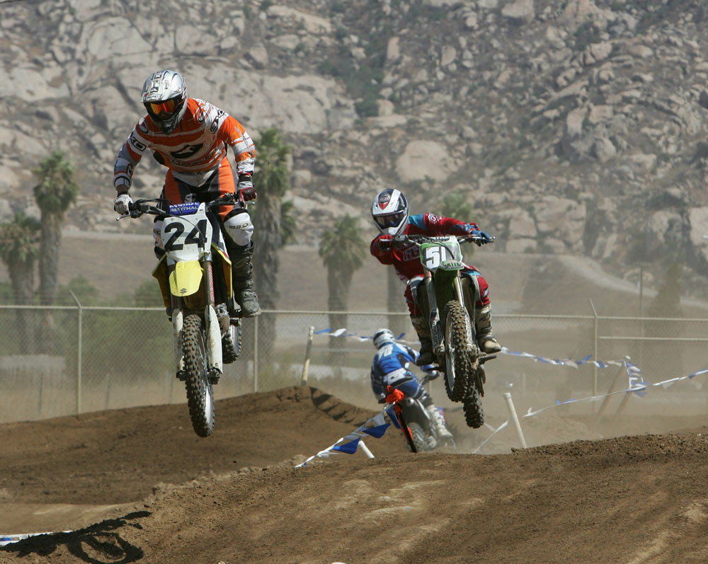 Rich Taylor and Tyler Keefe - Surfercross '06 - Motocross Pictures - Vital MX