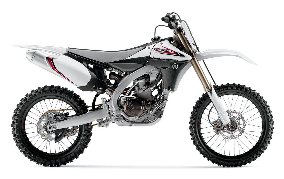First Look: 2012 Yamaha YZ250F and YZ450F - Motocross