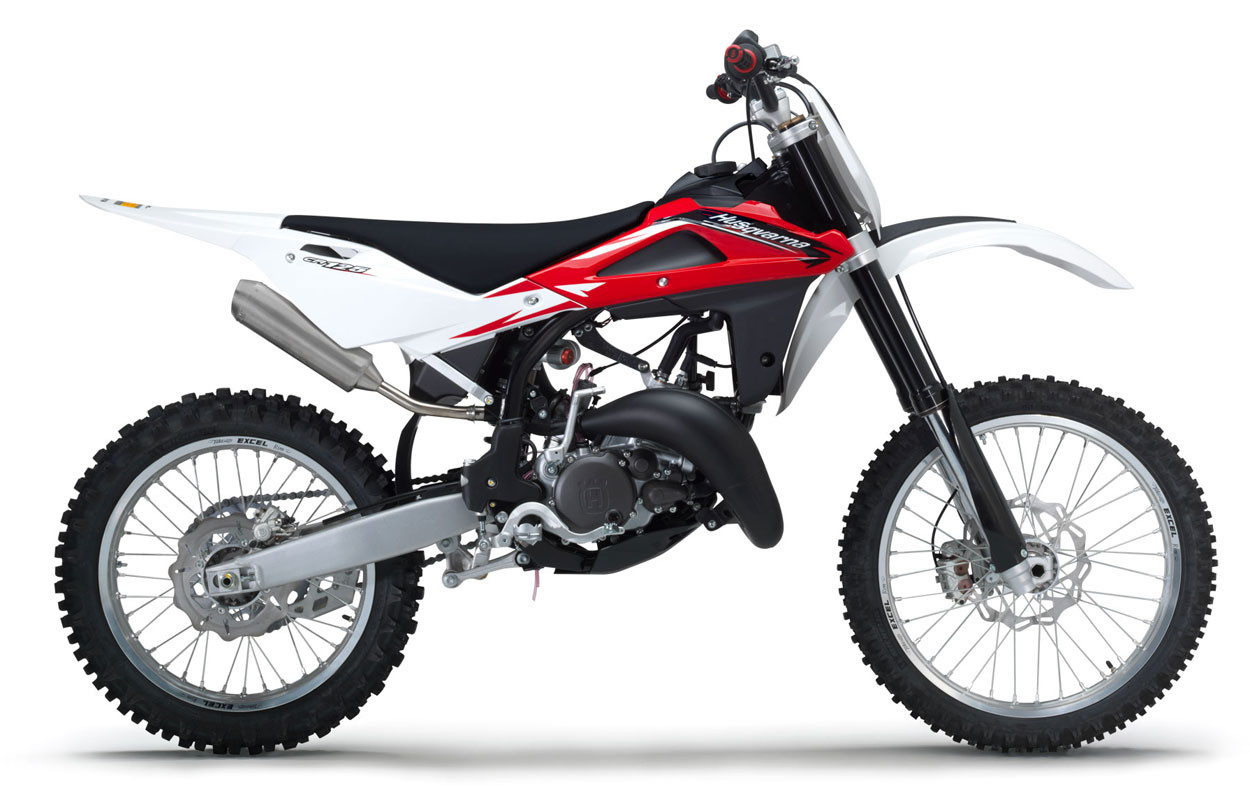 Competition comes first on Husqvarna's CR125, which carries its existing  race-tested technology and top-level components into 2012.