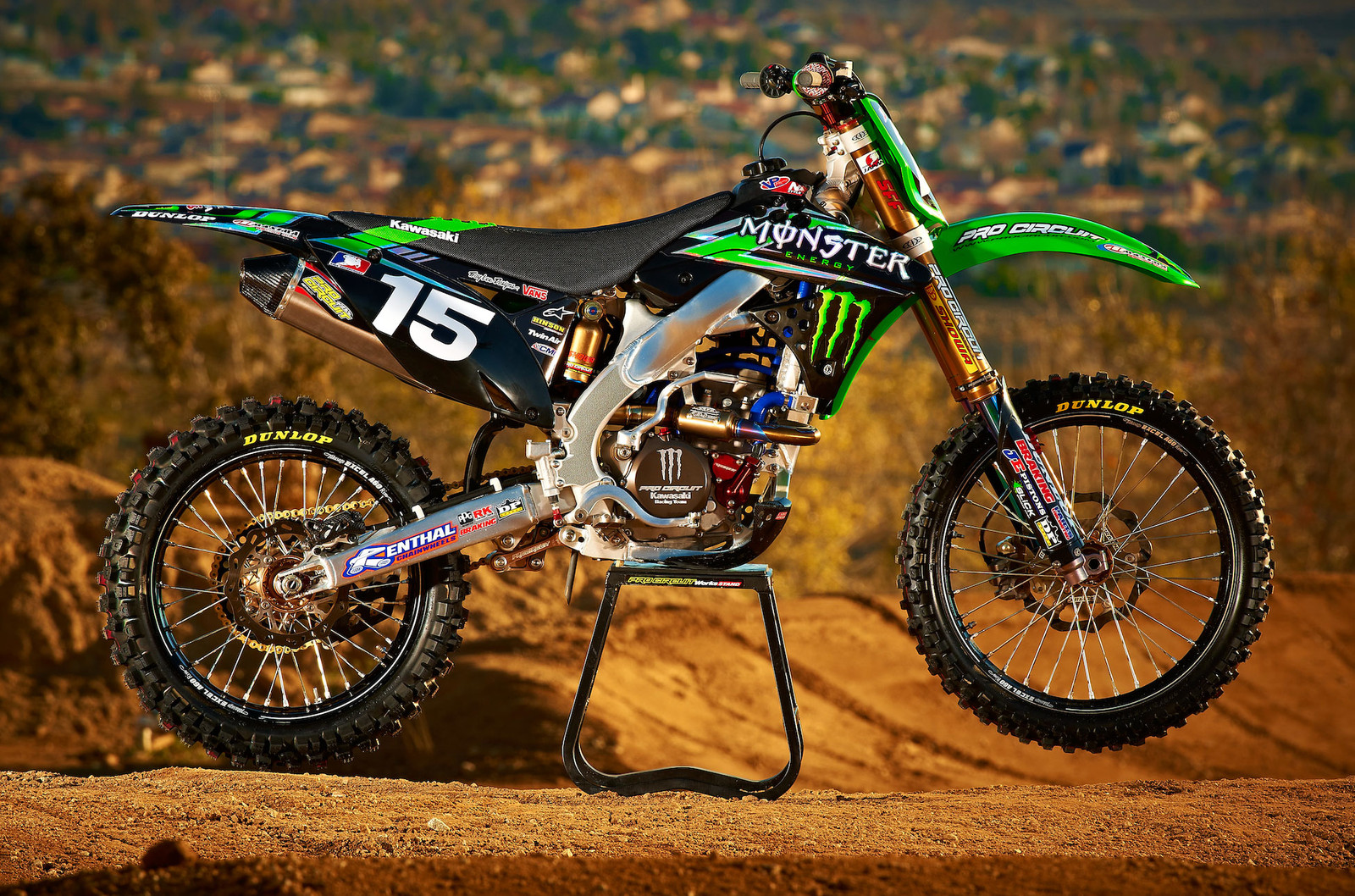 Official 2012 Monster Energy/Pro Circuit/Kawasaki Race Team Graphics - Moto-Related - Motocross ...