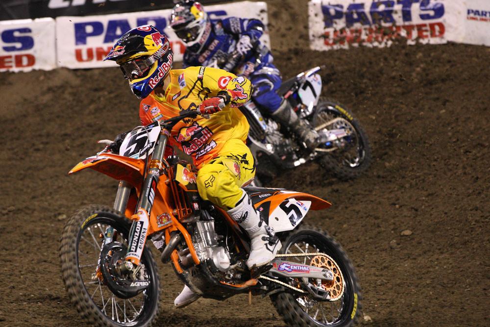 Ryan Dungey and James Stewart - Photo Blast: Anaheim 1 2012 - Motocross Pictures - Vital MX