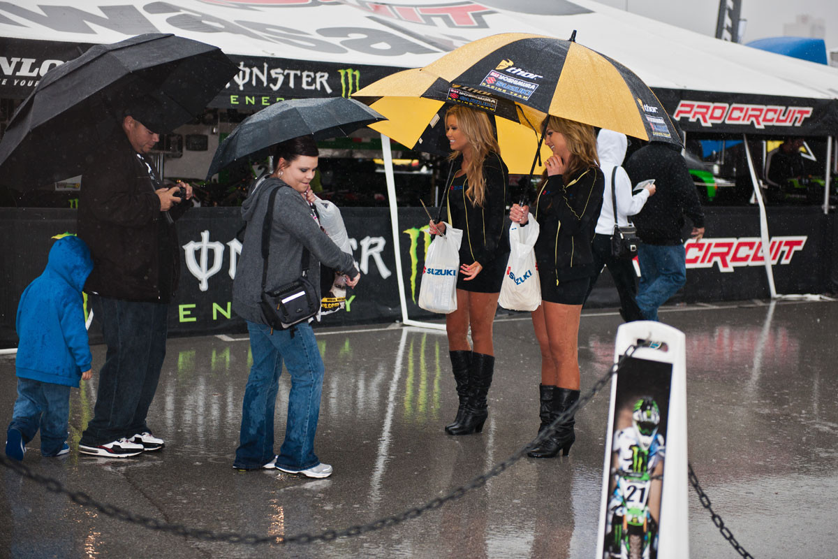 Texas Flood? - Vital MX Pit Bits: Arlington - Motocross Pictures - Vital MX