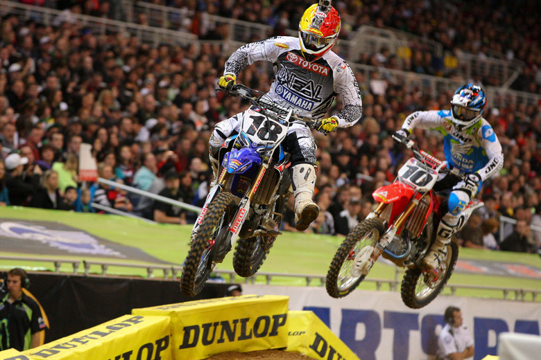 Davi Millsaps held off Justin Brayton until just before halfway.