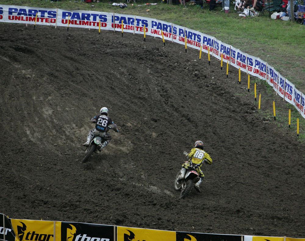 Michael Byrne and Davi Millsaps - AMA Steel City '06 - Motocross Pictures - Vital MX