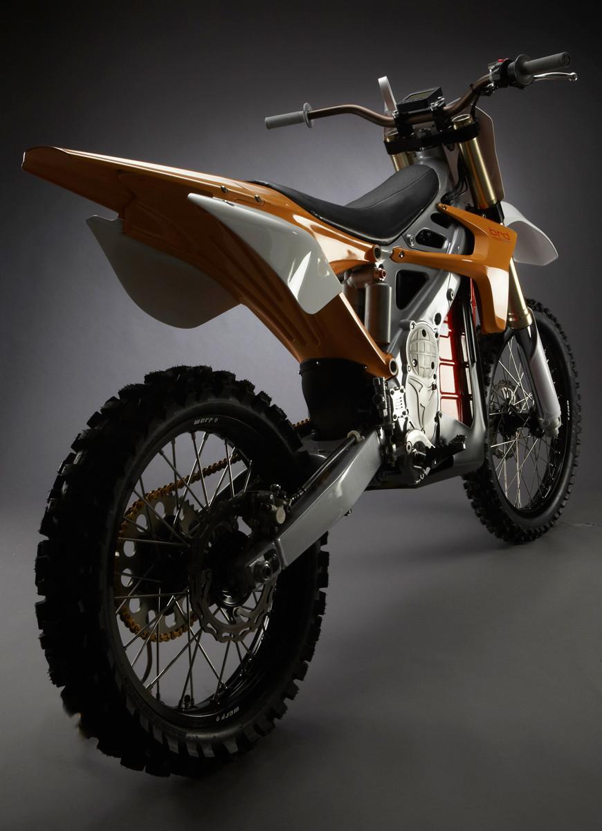 BRD RedShiftMX Back - BRD Red Shift - Motocross Pictures - Vital MX