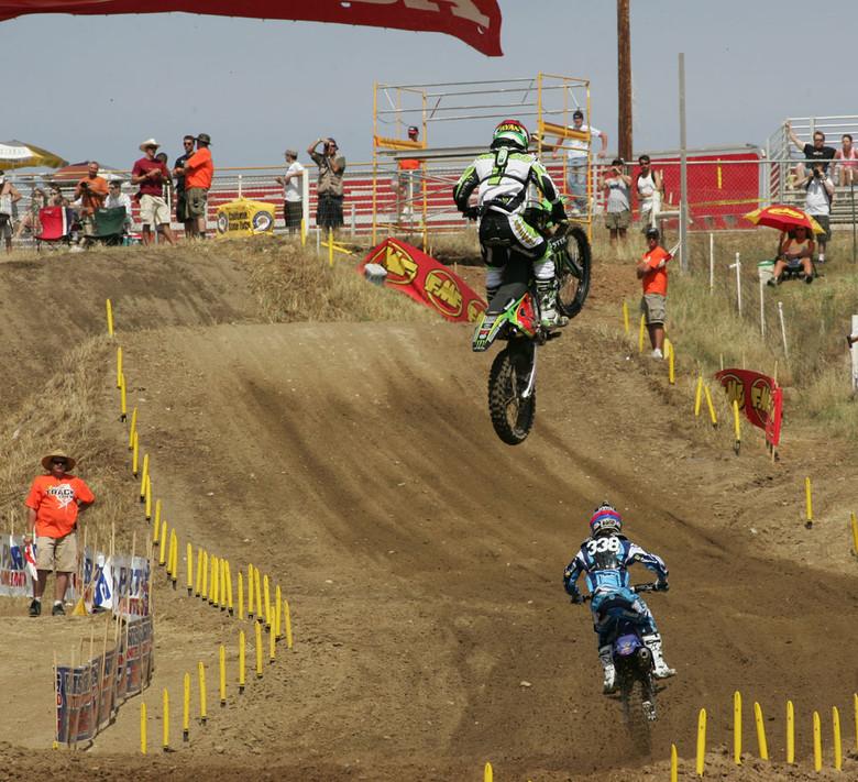 Ryan Villopoto and Jason Lawrence
