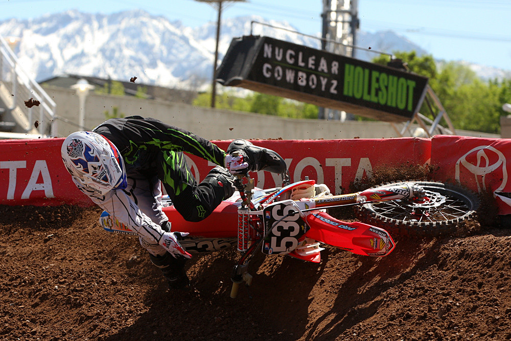Erik Meusling - Vital MX Pit Bits: Salt Lake City - Motocross Pictures - Vital MX
