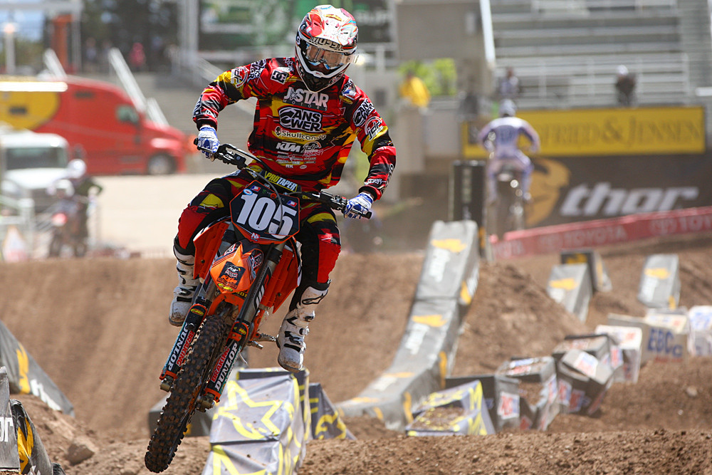 Matt Moss - Vital MX Pit Bits: Salt Lake City - Motocross Pictures - Vital MX