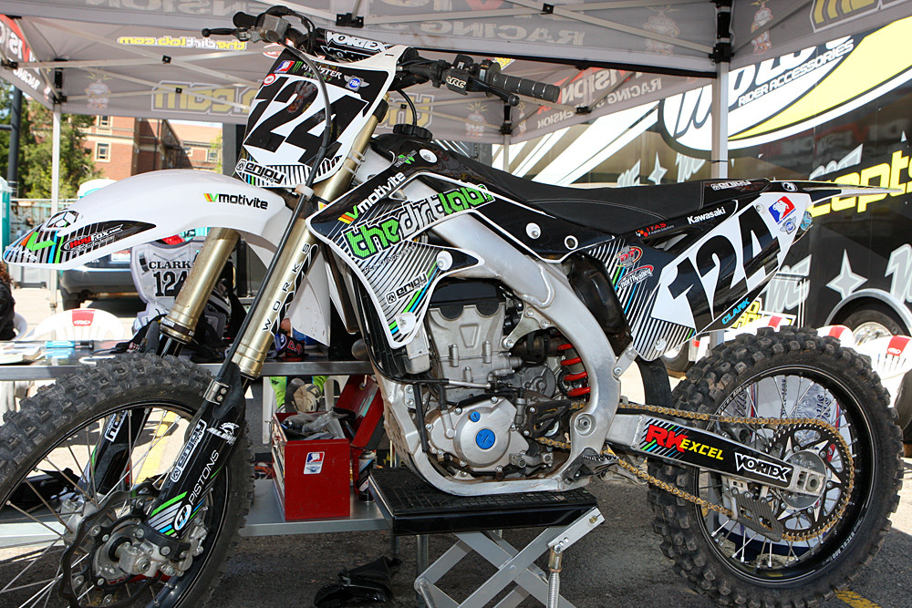 Ryan Clark and the Dirt Lab - Vital MX Pit Bits: Salt Lake City - Motocross Pictures - Vital MX