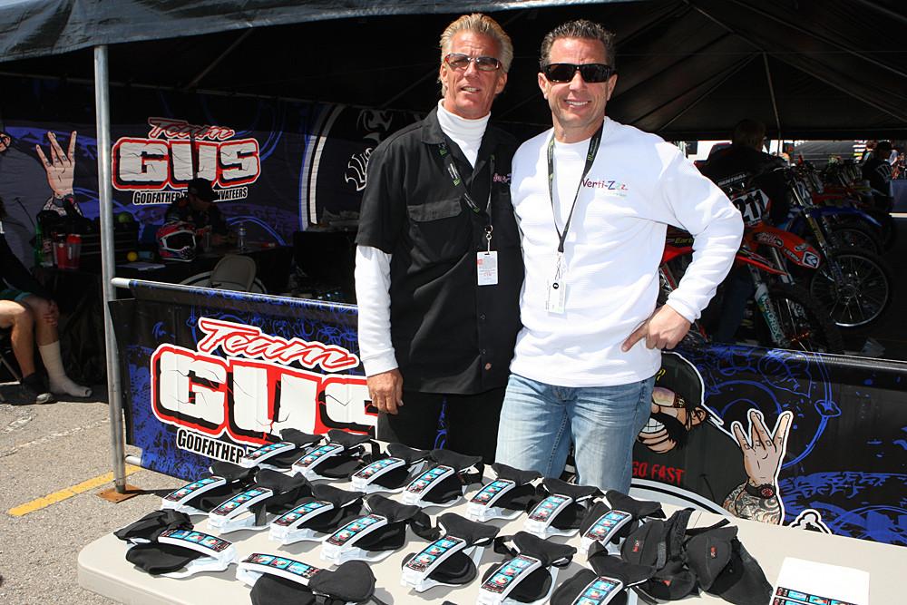 Gus and Geoff Patterson - Vital MX Pit Bits: Salt Lake City - Motocross Pictures - Vital MX