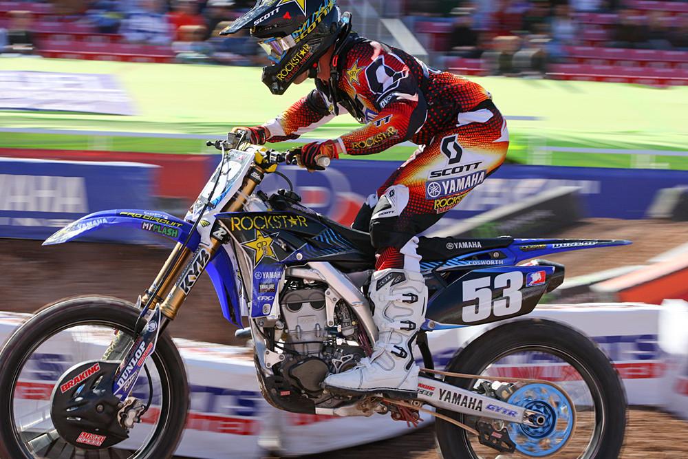 Ryan Sipes - Vital MX Pit Bits: Salt Lake City - Motocross Pictures - Vital MX