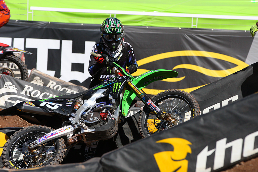 Dean Wilson - Vital MX Pit Bits: Salt Lake City - Motocross Pictures - Vital MX