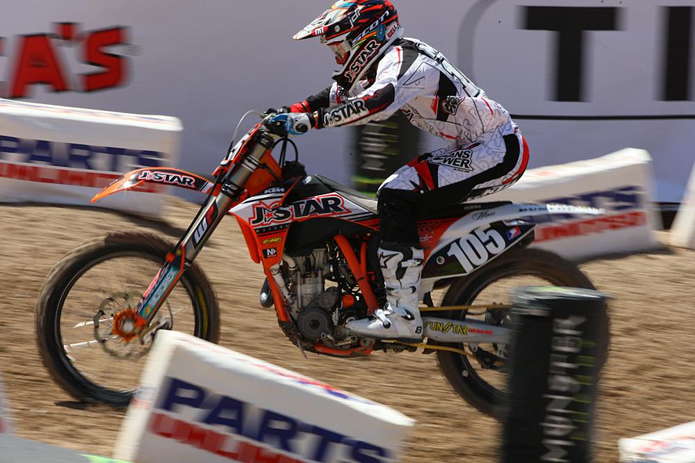 Matt Moss - Vital MX Pit Bits: Las Vegas - Motocross Pictures - Vital MX