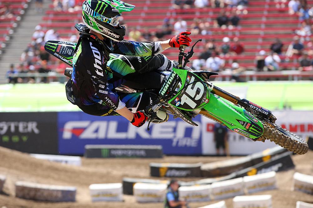 Dean Wilson - Vital MX Pit Bits: Las Vegas - Motocross Pictures - Vital MX