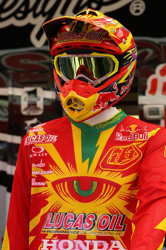 Troy Lee Designs - Vital MX Pit Bits: Las Vegas - Motocross Pictures - Vital MX