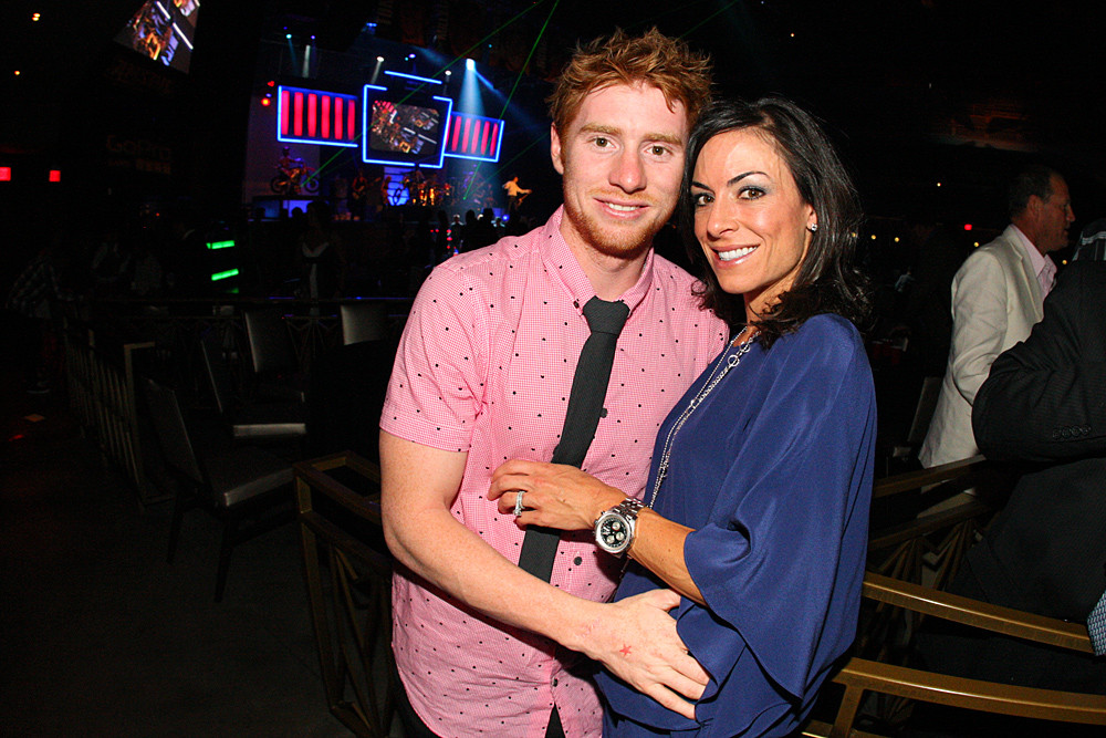 Ryan Villopoto and Kristen - 2012 Monster Energy Supercross Awards - Motocross Pictures - Vital MX