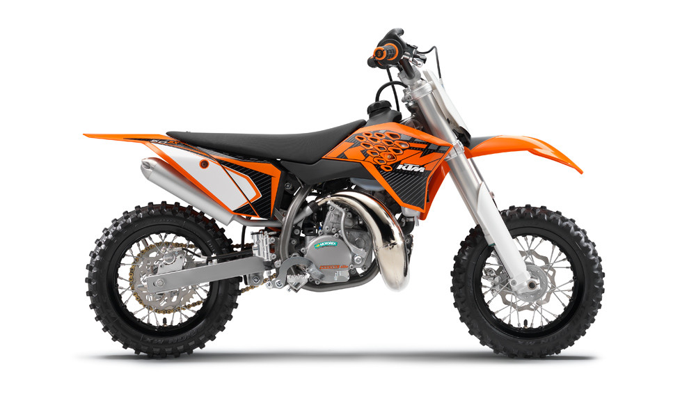 2013 KTM 50 SX mini - 2013 KTM Mini and SX Models - Motocross Pictures - Vital MX