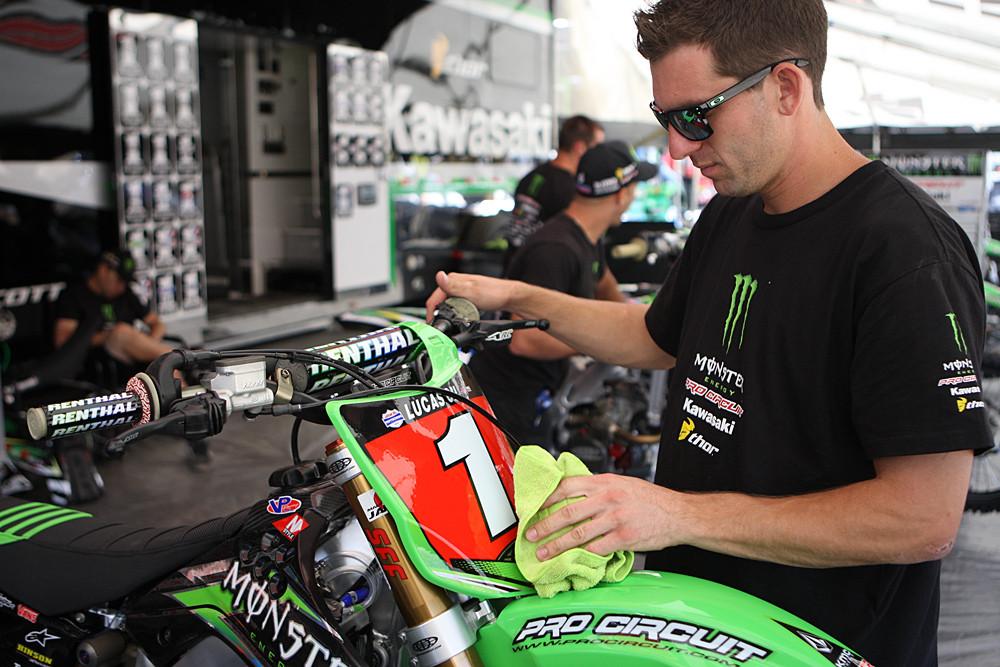 Paul Perebijnos - Vital MX Pit Bits: Hangtown - Motocross Pictures - Vital MX