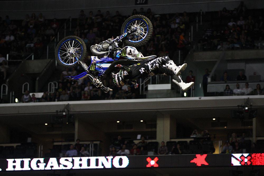 Taka Higashino - Top Ten: X Games Moto X Freestyle ...